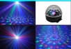 LED Disco Ball LXG 113 Paprskový Efekt
