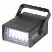 Mini LED strobo reflektor bílý, 24 LED diod, 10 W