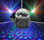 LED mini half ball 3x 1 W RGB