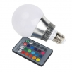 LED bulb RGB 5 W E14 including remote control