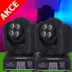Moving head LED WASH+WASH, 8x10 W CREE RGBW, DMX512