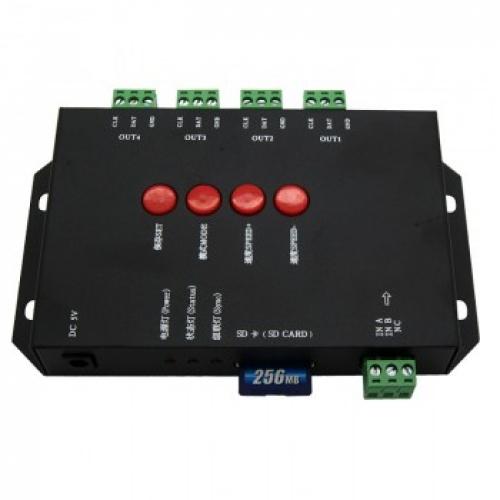 rgb digital led stripes controller 4096 diodes sd card controllers digital. Black Bedroom Furniture Sets. Home Design Ideas