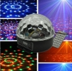 RGB LED Ball 6 W, remote control, DMX