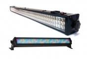LED Wall Bar, 8* RGB segment, 216x 10 mm LED, DMX512