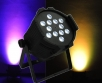 LED PAR reflektor 12x 10 W RGBW 4-in-1, DMX