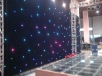 LED curtain 3x 2 m, 72x RGB 3-in-1 LED, DMX
